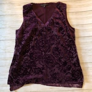 White House Black Market Lace tank SZ 10